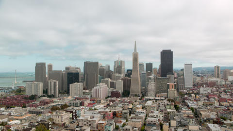 San Francisco Timelapse Footage