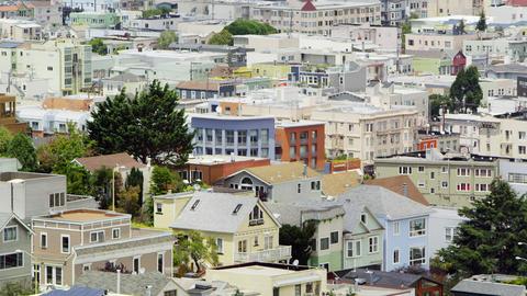 City neighborhoods in San Francisco Footage