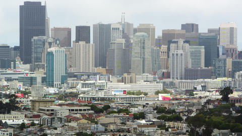 San Francisco neighborhoods and cityscapes Footage