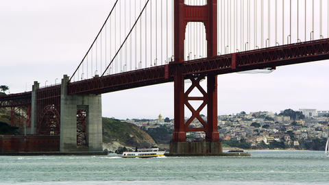 San Francisco's Golden Gate Bridge Footage