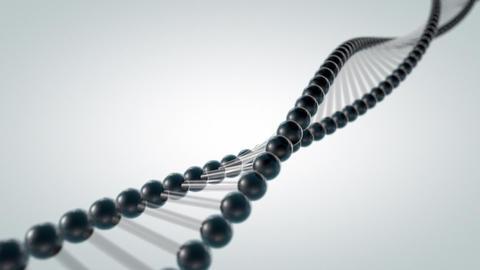 DNA Strand - 3D animation CG動画素材