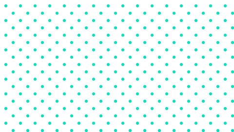 Dot pattern EME Bg WHT 10sec loop CG動画