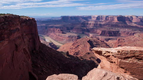 Dead Horse Point in Moab, Utah Footage