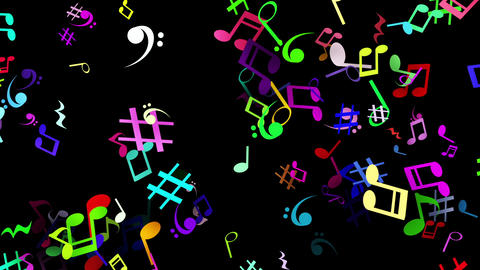 Clay par musical blk rbw Animation