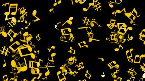 Clay par musical blk gl Animation