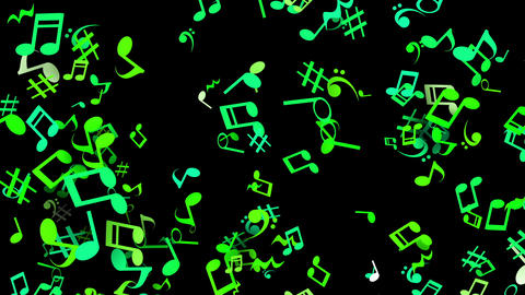 Clay par musical blk gr Animation