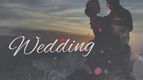 Wedding Ink Heart Slideshow (Premier Pro Template) Premiere Pro Template