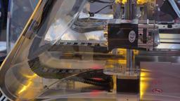 New technology machine 3d printer Footage