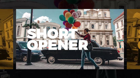 Short Opener After Effects Template