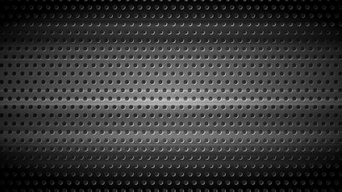 Dark chrome perforated metal texture video animation Animation