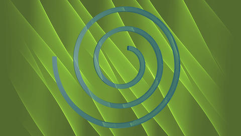 Abstract 3d video background with blue spiral moving on... Stock Video Footage