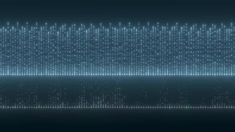 VJ Loop blue graph 1 Stock Video Footage
