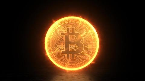 bitcoin energy lighting animation Animation