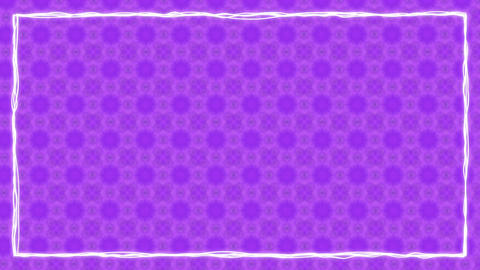 Purple Texturized Animated Border Frame Animation