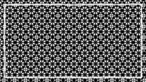 Dark Black Texturized Animated Border Frame Animation