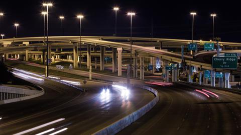 Texas Freeway System Timelapse Footage