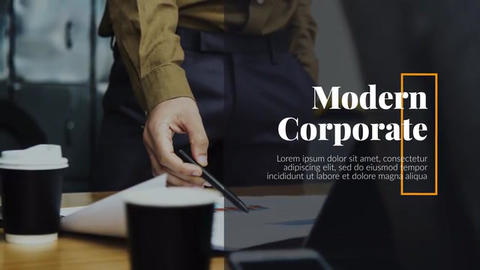 Modern Corporate - Business Presentation After Effects Template
