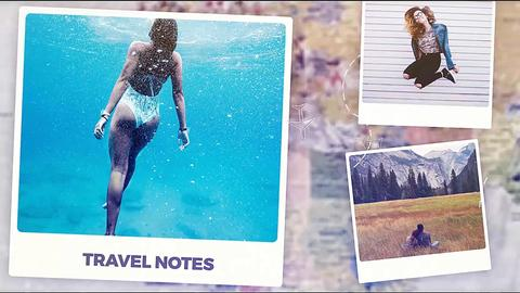 Travel Notes Plantilla de After Effects