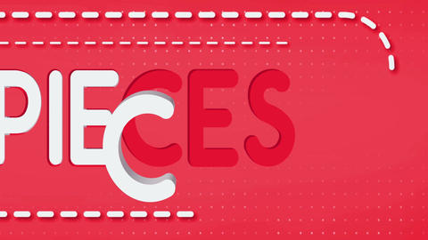 Pieces Title Reveal After Effects Template