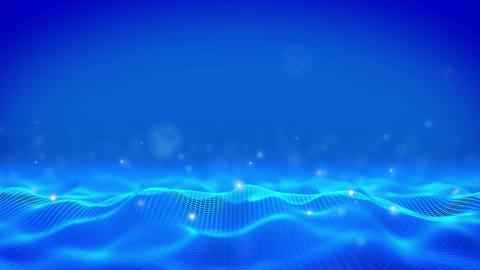 Corporate Background Blue Stock Video Footage