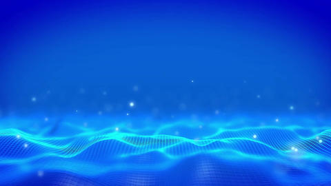 Corporate Background Blue Animación