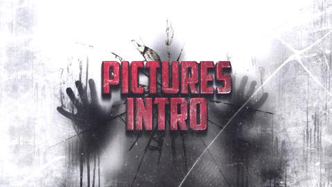 GRUNGE PICTURES INTRO Plantilla de After Effects