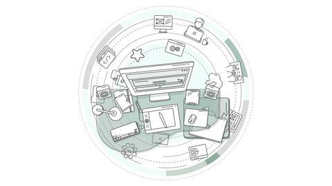 Web designer creativity animation Animation