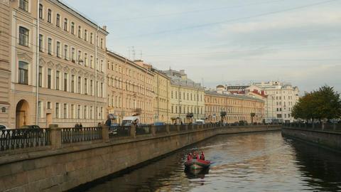Autumn in St. Petersburg Footage