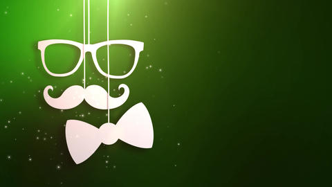 Happy father day green background animation Animation
