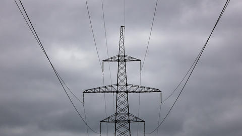 Energy Transmission Lines 02 Footage
