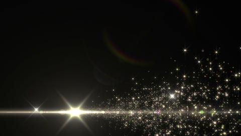 Lens Flares and Particles 16 S4 4k Animation