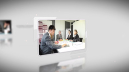 UnWrap Corporate Intro Apple Motion Template