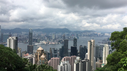 PEAK HONG KONG VIEW BY KDM RAW unedited video in 4K Footage