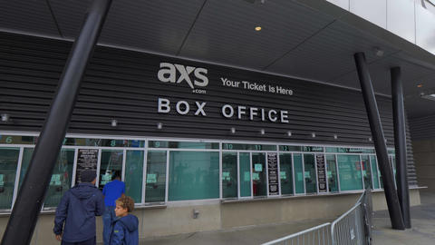Box Office at Staples Center Los Angeles - CALIFORNIA, USA - MARCH 18, 2019 Live Action