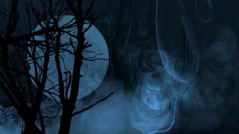 Horror Background. Disturbing background for your horror, thriller and suspense videos Animation
