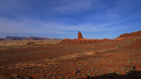 Breathtaking scenery at Canyonlands National Park Footage