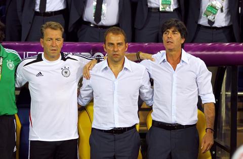 Germany national soccer team manager Joachim Low フォト
