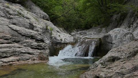 Glitch effect. Bath Youth (Lake Kara-Gaulle), the Grand... Stock Video Footage