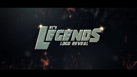 Legendary Logo Reveal After Effects Template