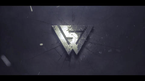 DISINTEGRATION LOGO INTRO After Effects Template