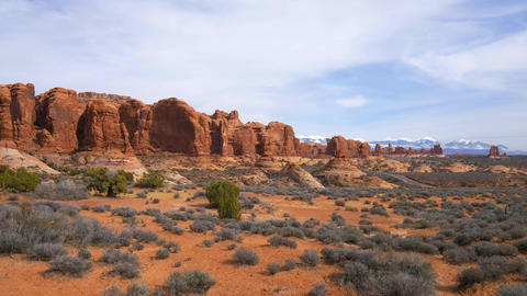 Arches National Park in Utah - famous landmark, Live Action