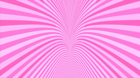 Abstract cruve line moving motion pink color on dark... Stock Video Footage