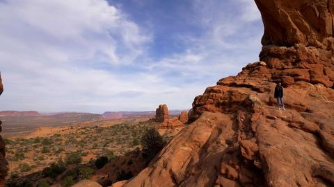 Poplular landmark in Utah - The Arches National Park -…, Live Action
