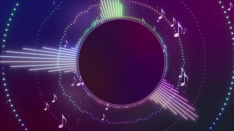 Audio Spectrum Music Visualizer 03 Animation