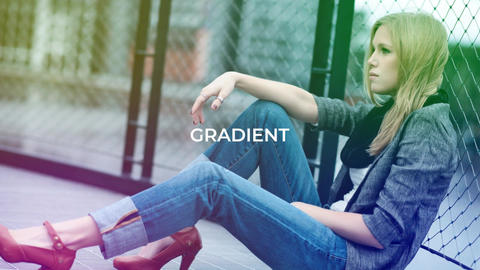 Gradient Fashion Presentation After Effectsテンプレート