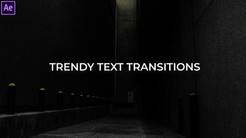 Trendy Text Transitions Presets