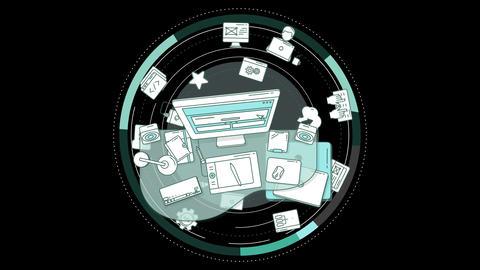 Web Designer Promo Animation Animation