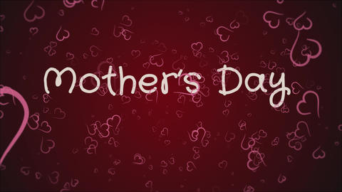 Animation Mother's day, greeting card Live Action
