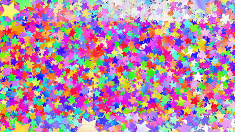 Glitter Star Frame 5 Ss Colorful 4k Animation
