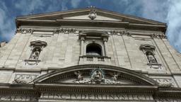 Italy Rome 038 Santa Maria in Vallicella church nave facade Footage